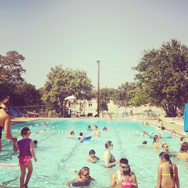 Photo taken at Big Stacy Pool by Lizzy N. on 7/29/2012