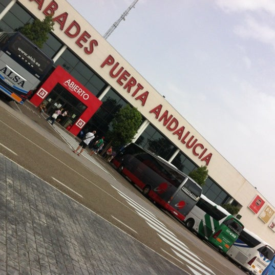 Photo taken at Abades Puerta de Andalucía by Carlos M. on 8/18/2012