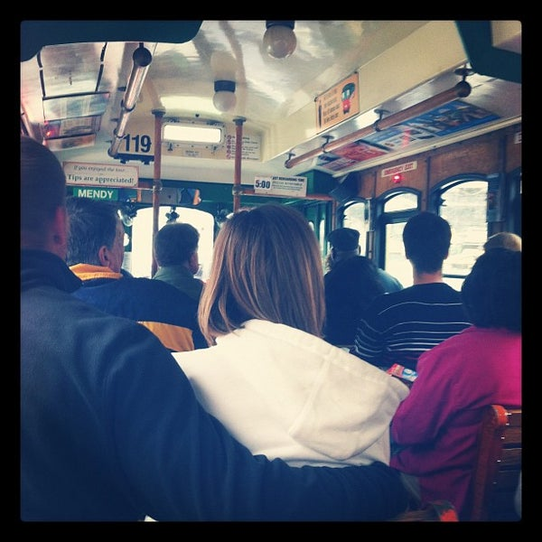 Photo taken at Old Town Trolley Tours of Boston by Christina G. on 4/22/2012