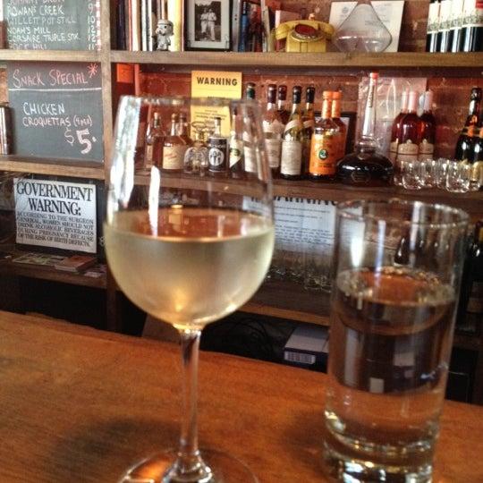 Photo taken at Custom Wine Bar by Hannah B. on 6/8/2012