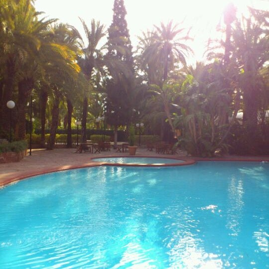 Foto tomada en Hotel Huerto del Cura por Elvira el 2/20/2012