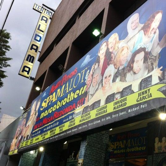 Foto tirada no(a) Teatro Aldama por Hector Andres B. em 8/31/2012