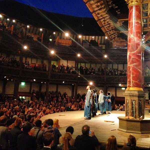 Photo taken at Shakespeare's Globe Theatre by Samson Y. on 5/21/2012