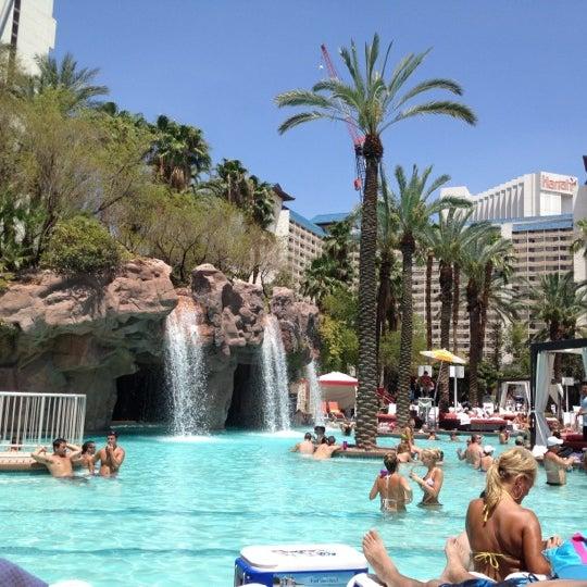 Photo taken at Flamingo GO Pool by Liz on 7/15/2012