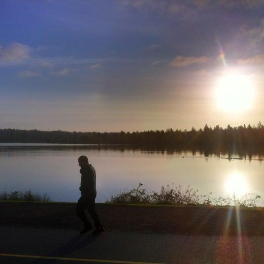 Photo taken at Green Lake Boathouse by Erik B. on 4/17/2012