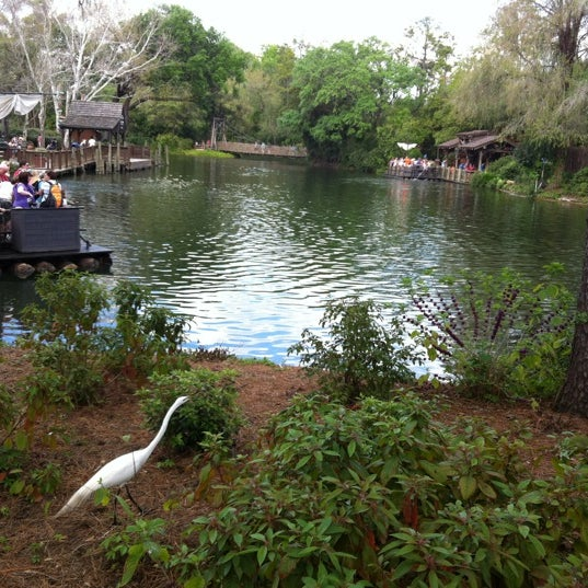 Photo taken at Frontierland by tixturismo v. on 3/13/2012