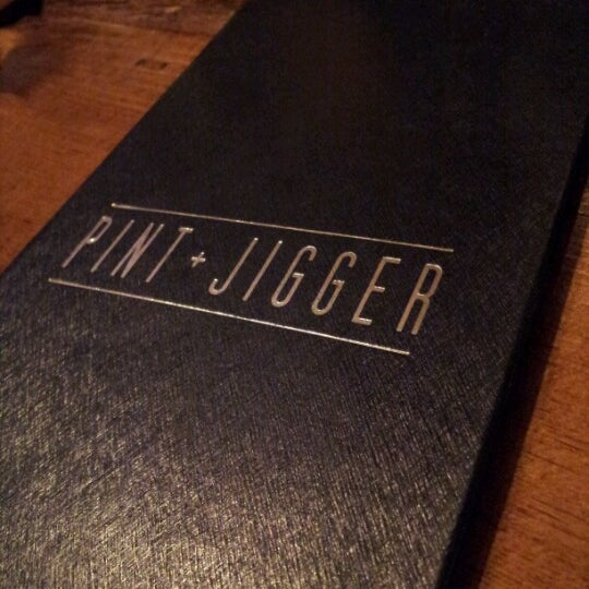 Photo taken at Pint + Jigger by Cary T. on 8/5/2012