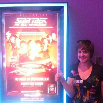 Photo taken at Regal Cinemas Green Hills 16 by Wyatt F. on 7/24/2012