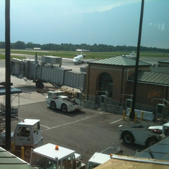 Photo taken at Westchester County Airport (HPN) by David F. on 7/1/2012