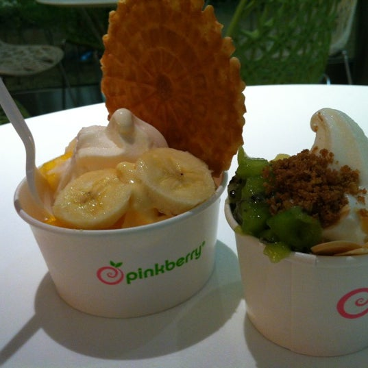 Photo taken at Pinkberry by Mary Catherine R. on 5/9/2012