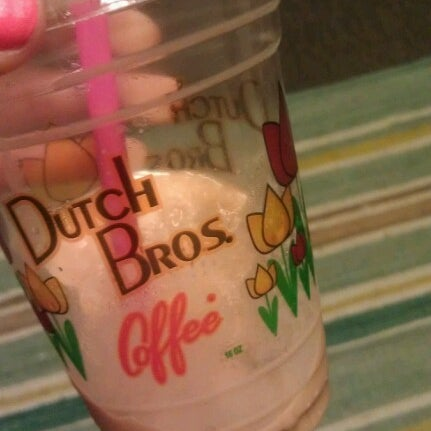 Photo taken at Dutch Bros. Coffee by Justeen B. on 8/16/2012