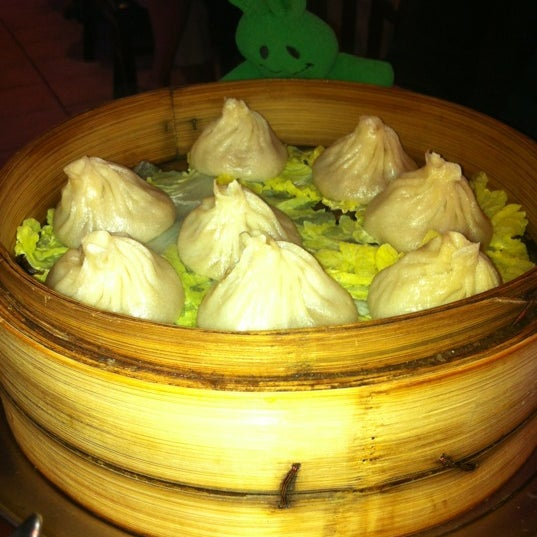 Photo taken at Shanghai Café Deluxe by greenie m. on 6/15/2012