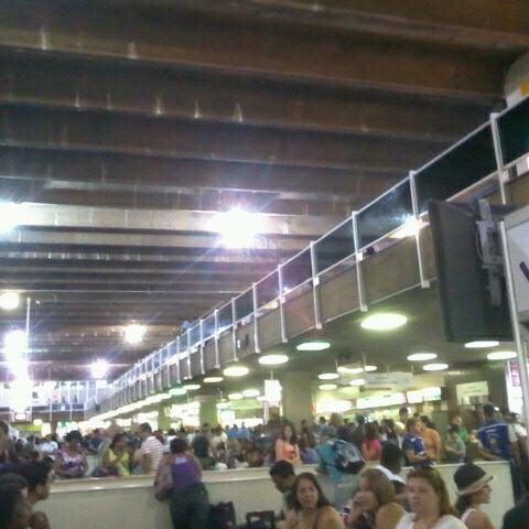 Photo taken at Terminal Rodoviário Governador Israel Pinheiro by Pollyanna G. on 2/18/2012