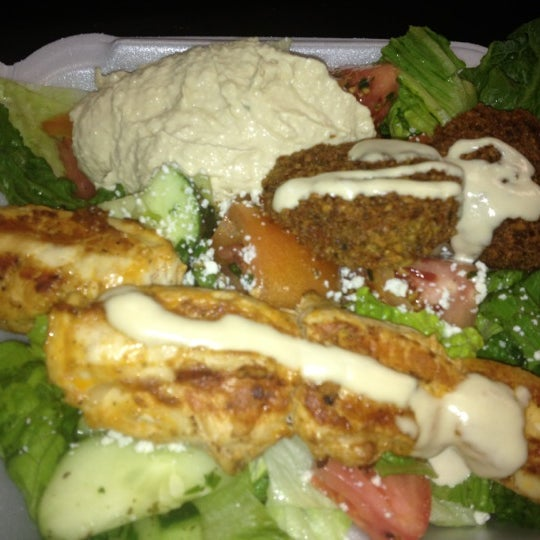 Photo taken at Falafel King by Chuck S. on 6/6/2012
