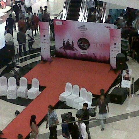 Photo taken at Kumar Pacific Mall by niraj T. on 9/2/2012
