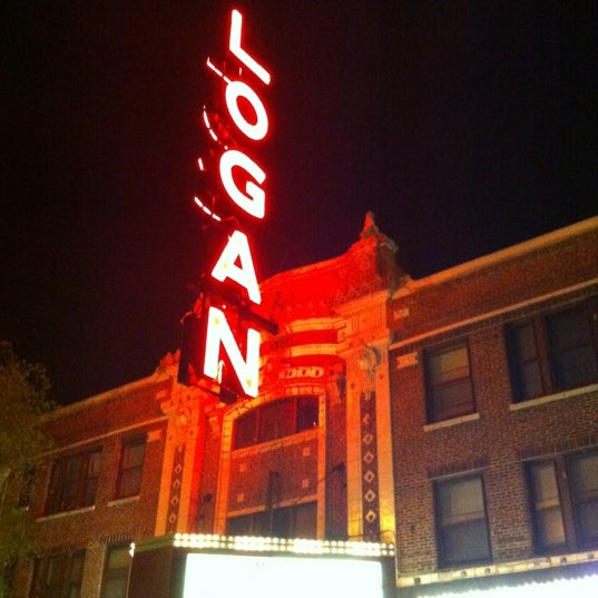Photo taken at Logan Theatre by Erik W. on 5/23/2012