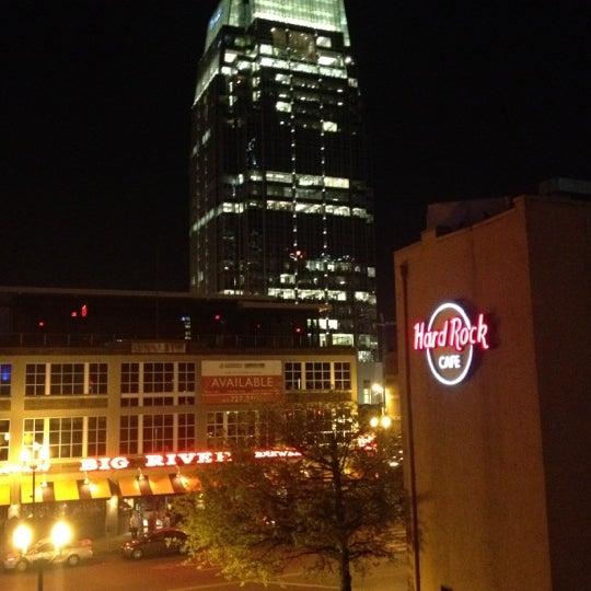 Photo taken at Hard Rock Cafe Nashville by Mark B. on 3/28/2012