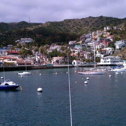 Photo taken at Santa Catalina Island by Louise F. on 3/23/2012