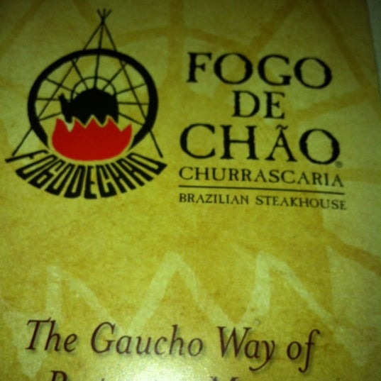 Photo taken at Fogo de Chao Brazilian Steakhouse by Armando S. on 4/15/2012