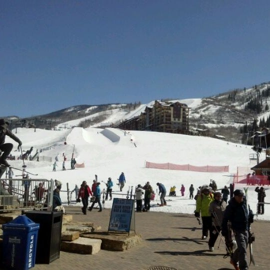 Photo taken at Steamboat Resort by Andrew P. on 3/8/2012