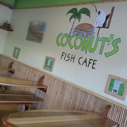 Coconut 39 s fish cafe 1279 s kihei rd 304 for Coconut s fish cafe