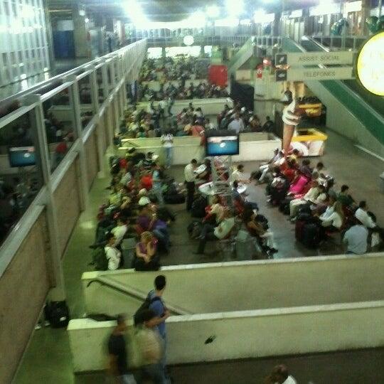 Photo taken at Terminal Rodoviário Governador Israel Pinheiro by Claudia W. on 6/23/2012