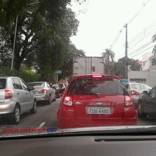Photo taken at Avenida Brasil by Alessandra R. on 4/27/2012