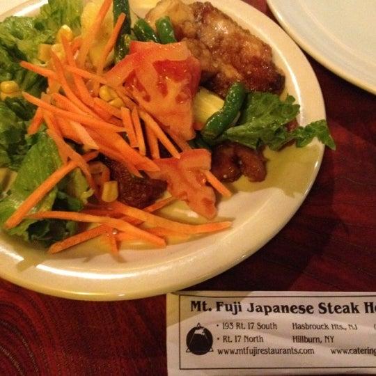 Photo taken at Mt. Fuji Japanese Steak House by Ye W. on 7/20/2012