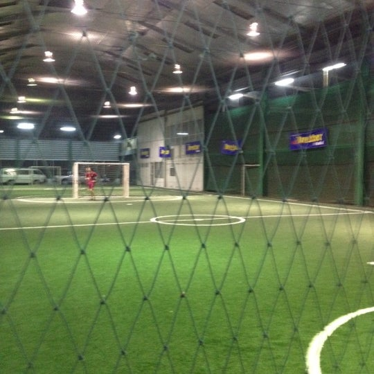 Photo taken at SD Indoor Soccer by Super_x T. on 4/27/2012