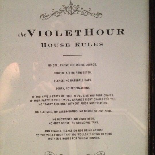 Foto scattata a The Violet Hour da CM S. il 7/8/2012