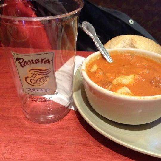 Photo taken at Panera Bread by Blake R. on 3/10/2012