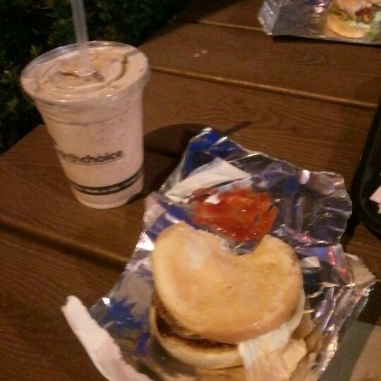 Photo taken at M Burger by Matthew M. on 5/19/2012