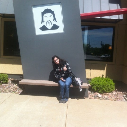 Photo taken at HuHot Mongolian Grill by Phillip C. on 4/21/2012