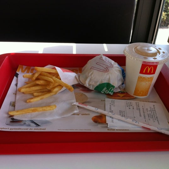 Photo taken at McDonald's by Tamás K. on 3/20/2012