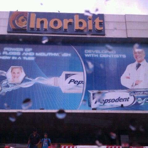 Photo taken at Inorbit Mall by Divyesh J. on 7/30/2012