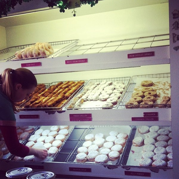 Photo taken at Peter Pan Donut & Pastry Shop by Cristina on 3/4/2012