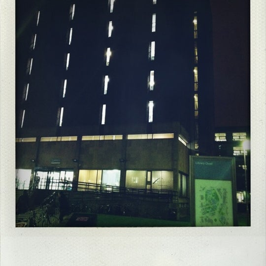 Photo taken at Northumbria University Library by Vicky N. on 2/28/2012