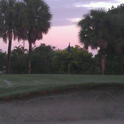 Photo taken at Palmetto Golf Course by Dedrick B. on 7/18/2012