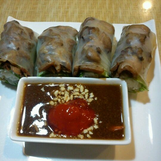 You must to try the bbq pork spring rolls. The best..
