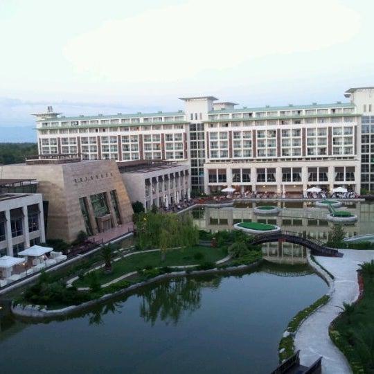 6/3/2012 tarihinde Andrew B.ziyaretçi tarafından Rixos Premium Belek'de çekilen fotoğraf