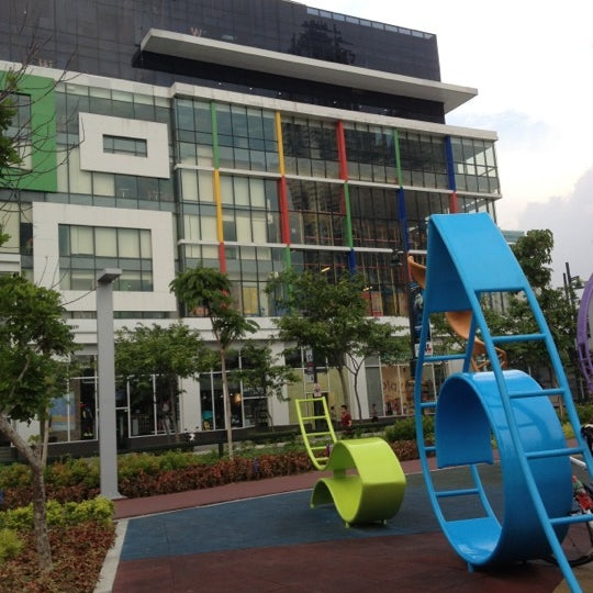 Photo taken at Bonifacio High Playground by Lisa S. on 5/7/2012