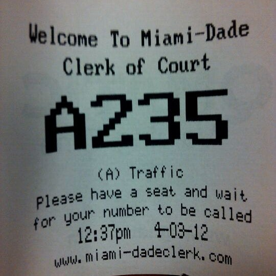 Photo taken at North Dade Justice Center by david on 4/3/2012