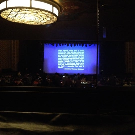 Photo taken at Altria Theater by Shannon E. on 4/29/2012