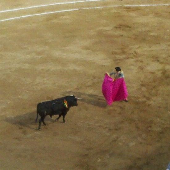 Foto tomada en Plaza de Toros Nuevo Progreso por Joaquinachos el 2/26/2012