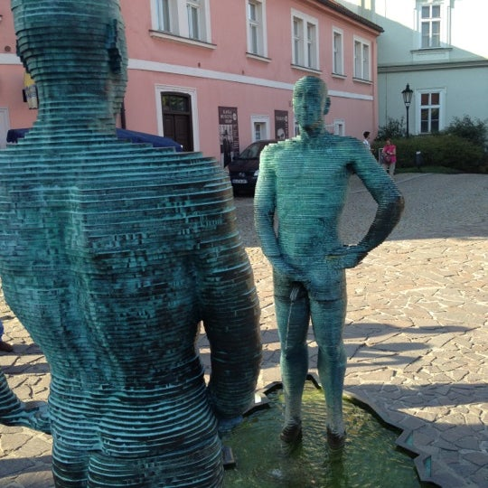 8/23/2012 tarihinde Justin S.ziyaretçi tarafından Franz Kafka Museum'de çekilen fotoğraf