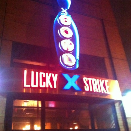 Photo taken at Lucky Strike New York by David K. on 2/15/2012