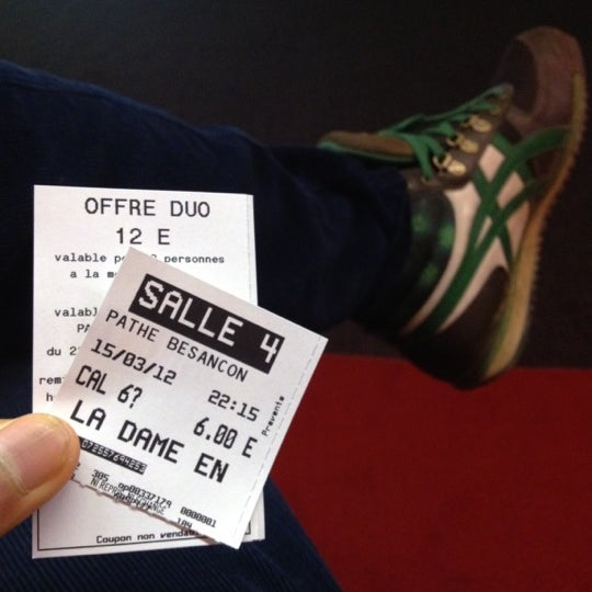 Photo taken at Pathé Beaux-arts by Amin on 3/15/2012