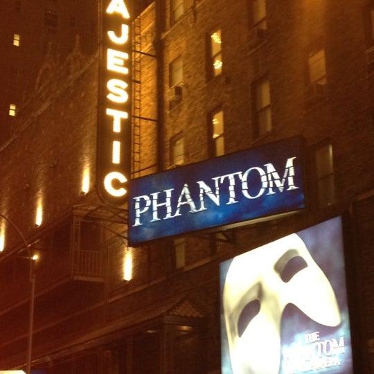Foto tirada no(a) Majestic Theatre por Keith L. em 3/15/2012