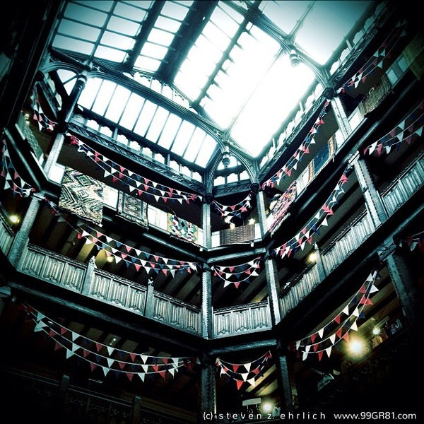 Photo taken at Liberty of London by Steven E. on 6/4/2012