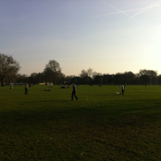 Photo taken at Clapham Common by Matt S. on 3/11/2012